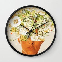 SuperFlowerHead Wall Clock