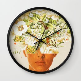 SuperFlowerHead Wall Clock