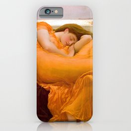 Frederic Leighton Flaming June iPhone Case