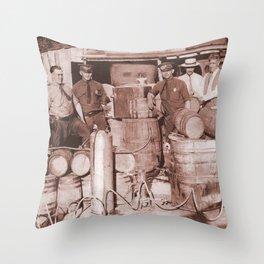 SGT. Leebrick, WVSP Throw Pillow