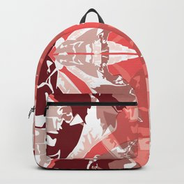 & Red All Over Backpack