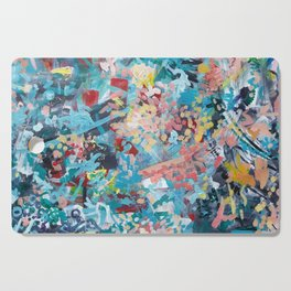 Abstract Expressionism 1 Cutting Board
