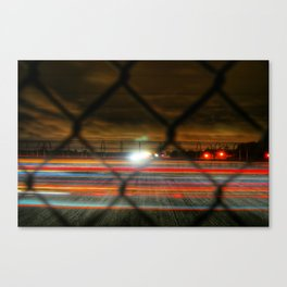 Whizzing Past Canvas Print