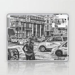 New York Taxis Laptop & iPad Skin