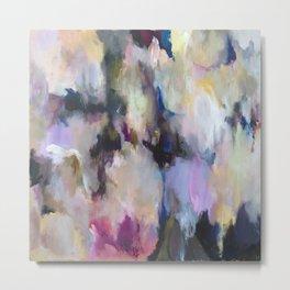Colourful Abstract - Grandma's Garden Metal Print