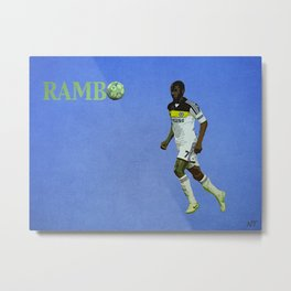 Rambo Metal Print