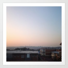 #298 Good Morning Jozi! Art Print