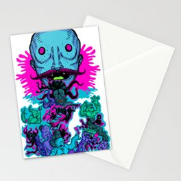 Mega Face Master Stationery Cards