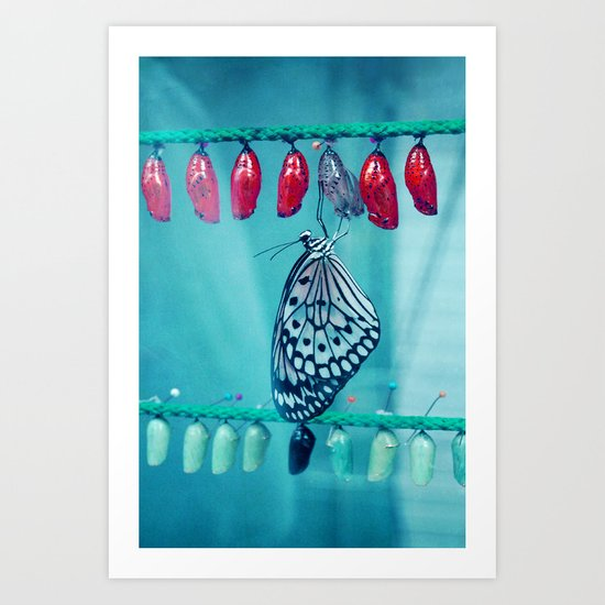 by nature Art Print