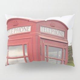 Phone box on the Isle of Skye Pillow Sham