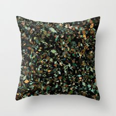 Panelscape: colours from KARMA CHAMELEON 3 Throw Pillow