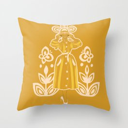 My New Hat Throw Pillow