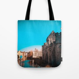 Ghent River View Tote Bag