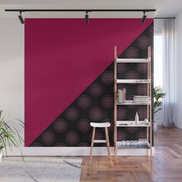 Pink and fractals Wall Mural