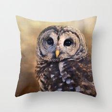 The Wise Owl Throw Pillow