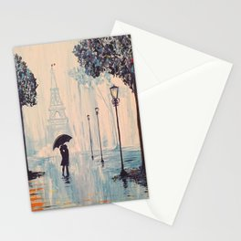 Last Night In Paris  Stationery Cards