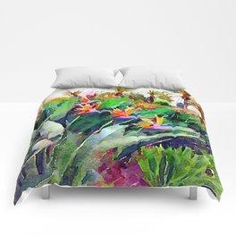 Birds of Paradise at La Costa Comforters