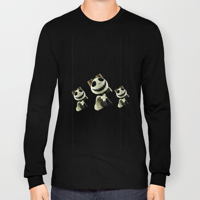 Halloween Prisoner | Jack | Christmas | Nigthmare Long Sleeve T-shirt