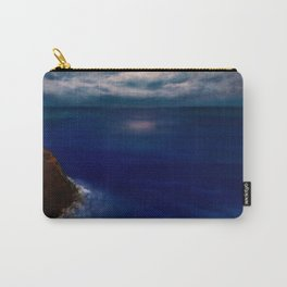 Full Moon reflecting on the Ocean Carry-All Pouch