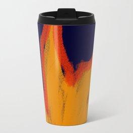 Primitive Fire - Navy Travel Mug