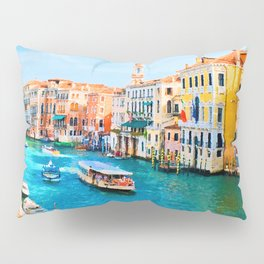 Italy. Venice lazy day Pillow Sham