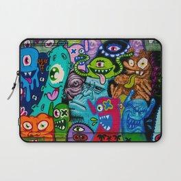 Cartoon Monsters Urban Graffiti Art Laptop Sleeve