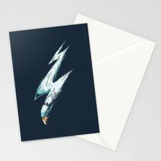 lightning eagles Stationery Cards