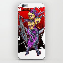 METAL MUTANT 2 iPhone Skin