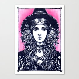 Young Witch Canvas Print