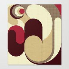 5 Colors Composition (#1) Canvas Print