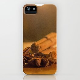 Christmas Spice. iPhone Case