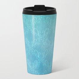 Ocean Lace Travel Mug