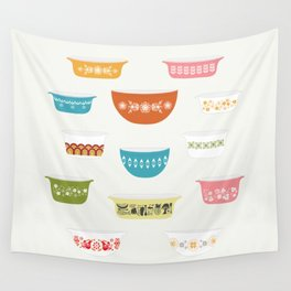 Vintage Pyrex Wall Tapestry