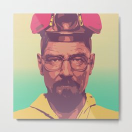 The Master Chemist - Walter White Metal Print