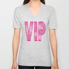VIP Pink Unisex V-Neck