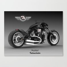 Dale Earnhardt Harley Canvas Print