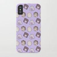 steven universe iPhone & iPod Cases featuring Steven Universe Gems (Purple) by xximone