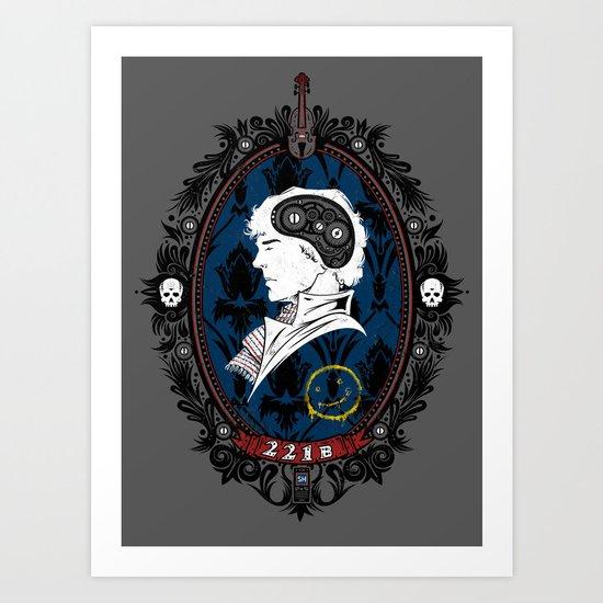 A Watchful Mind Art Print