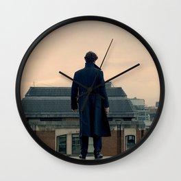 Sherlock Falls Wall Clock
