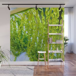 Palm Leaves Art Wall Mural