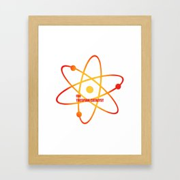 the Thespian Catalyst - Season 4 Episode 14 - the BB Theory - Sitcom TV Show Framed Art Print