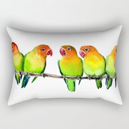 We are Watching you! Rectangular Pillow