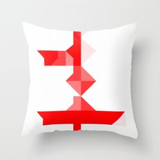 Across Throw Pillow