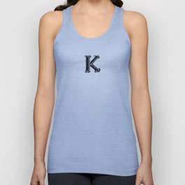 The Alphabetical Stuff - K Unisex Tank Top