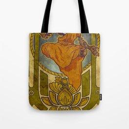 Enlightened Filament Tote Bag