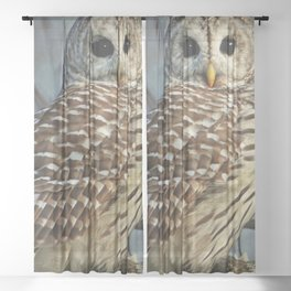 Woodland Goddess Sheer Curtain