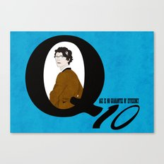 Q: Age Is No Guarantee of Efficiency Canvas Print