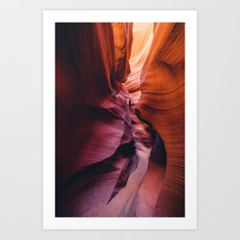 Antelope Canyon Rainbow Art Print