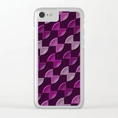 Geometrix 142 Clear iPhone Case