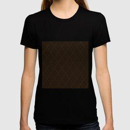 Nylon Stocking Fishnet Grid T-shirt